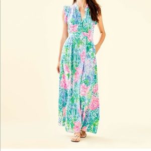 ISO Lilly Pulitzer Palm Beach Maxi